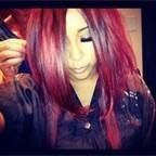 """6 Piece Remy Fireball Bright Red Clip in Real Human Hair Extensions 20"""" Long Streaks by MyLuxury1st, or order direct for free shipping!  http://www.amazon.com/dp/B00A70WOM0/ref=cm_sw_r_pi_dp_hfLQqb115TS91"""