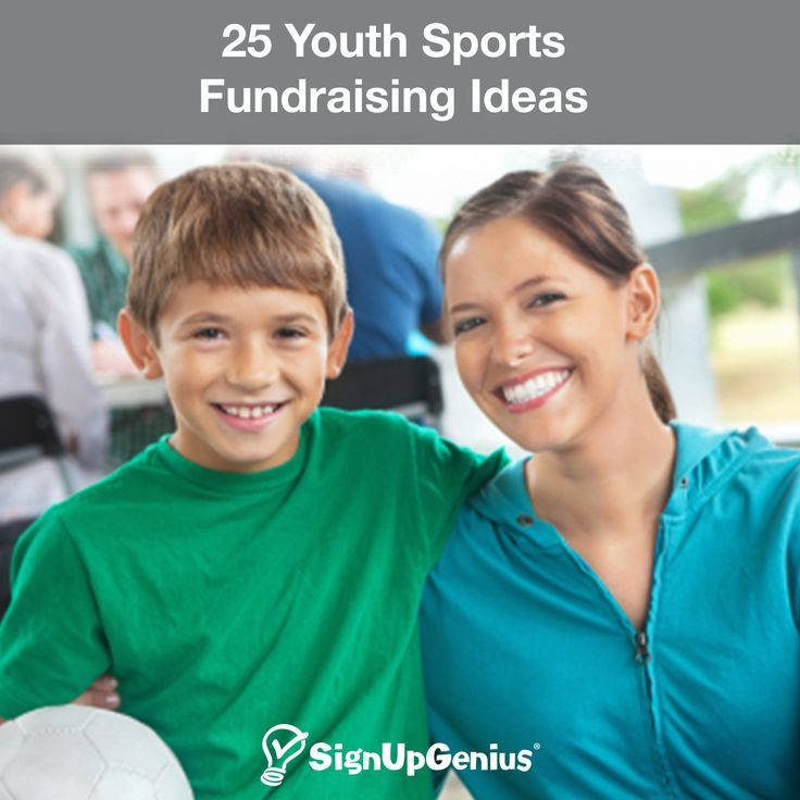 25 Youth Sports Fundraising Ideas. Help your child raise more money for their team with these unique and simple tips for fundraisers.