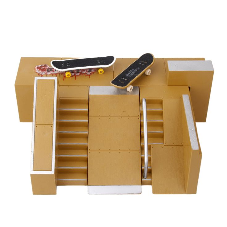 ==> [Free Shipping] Buy Best MagiDeal Kids Skate Park Ramp Parts Board Skateboards Toys Online with LOWEST Price   32783187187