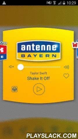 ANTENNE BAYERN  Android App - playslack.com ,  Die ANTENE BAYERN-App ist ihr Radio, dass Sie an jeden Ort der Welt mit hinnehmen können. Doch die Radio-App kann nicht nur Radio und Musik, sondern vieles mehr. Jetzt können Sie Ihren Radiosender ANTENNE BAYERN überall mobil & unterwegs auf ihrem Handy oder Tablet hören!Mit dieser App bekommen Sie nicht nur das aktuelle Radioprogramm von ANTENNE BAYERN, sondern auch Bayerns schnellsten Stau- und Blitzerservice aus dem ANTENNE BAYERN Verkehrszen