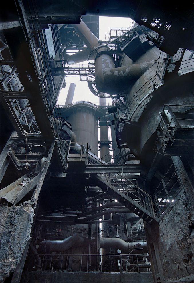 Blast Furnace, Boulogne-sur-Mer, France, 2005