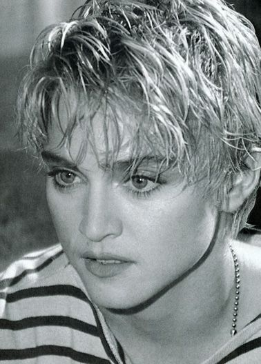 Madonna .... the way I remember her when my daughter was little. She ruled M.T.V.