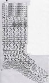 Risultati immagini per scarpe e calzettoni all'uncinetto