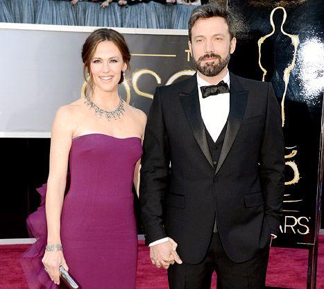 Served Jennifer Garner and Ben Affleck today!