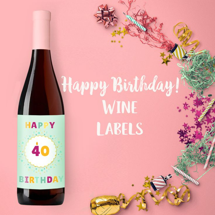 44 best Personalized Wine Labels for Any Occasion images on Pinterest