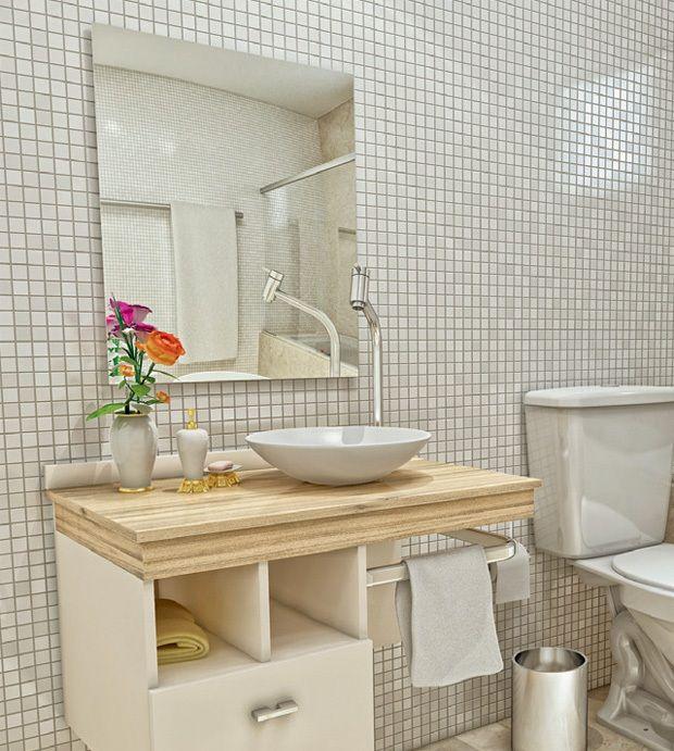 25+ melhores ideias sobre Gabinetes de banheiro no Pinterest  Armários de ba -> Cuba Para Banheiro Interna