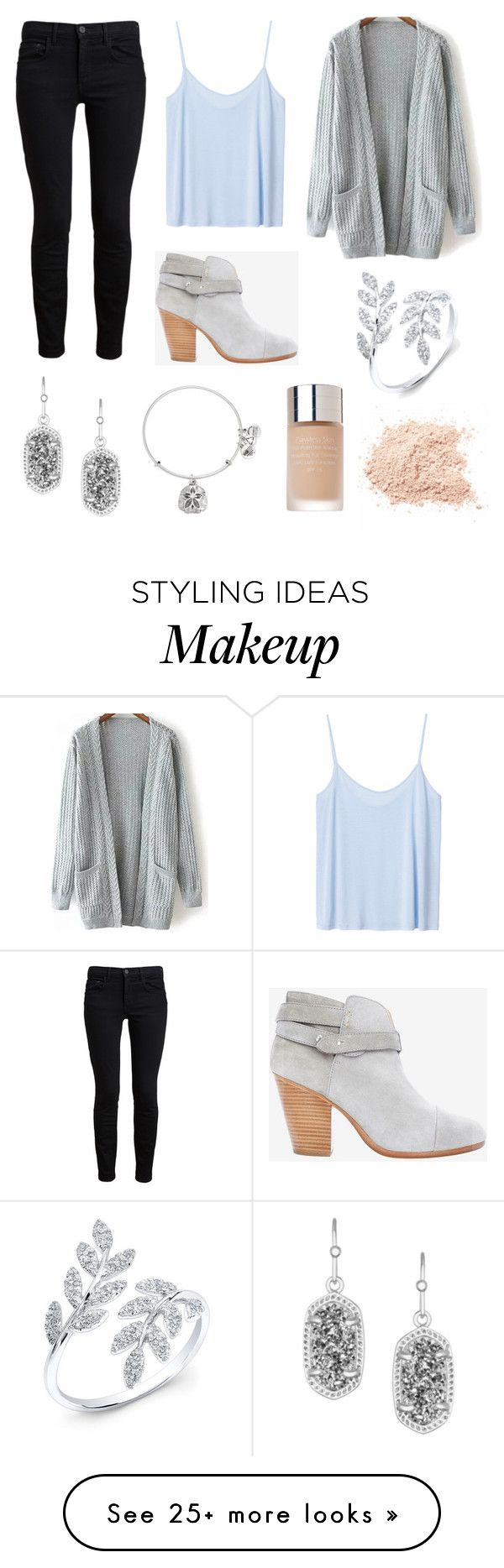 """shining all around"" by annavav on Polyvore featuring мода, Proenza Schouler, Monki, rag & bone, Kendra Scott, Alex and Ani и Prescriptives"