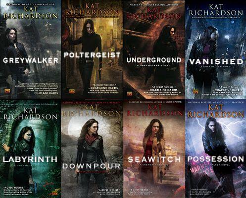 Greywalker Series by Kat Richardson