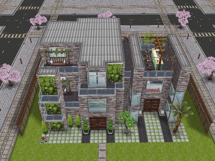 House 88 full view #sims #simsfreeplay #simshousedesign