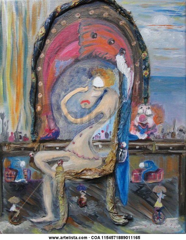 pintura de palhaço