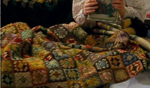 Nanny McPhee blanket.... I just love it.