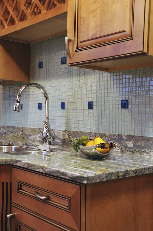 How To Remove A Granite Backsplash From A Wall Granite Backsplash Countertop Backsplash Kitchen Remodel