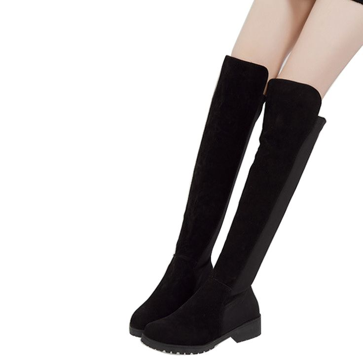 (47.27$)  Buy here - http://ai5mv.worlditems.win/all/product.php?id=32546750474 - Women Winter Boots Hot Sale Thigh-High Boots  Women Over The Knee High Boots 2015 Winter Warm Botas Mujer BT38