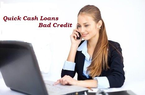 Quick Cash Loans Bad Credit is planned for the people who are suffer from poor credit rating and require money immediately. Get your loan now!