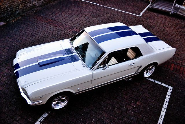 1965 Ford Mustang Coupe by pluzz, via Flickr