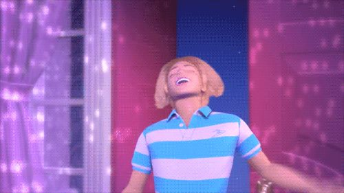 MRW I haven't had a haircut in a while and I get out of the shower after using my wife's conditioner.