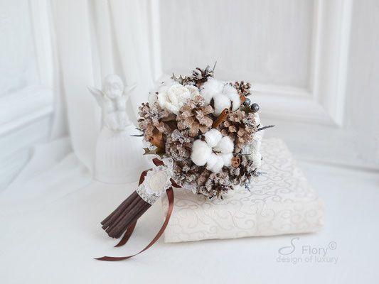 букет из шишек cone bouquet