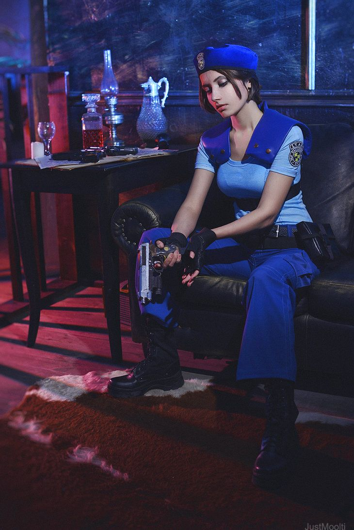 RE: Jill Valentine by Narga-Lifestream on DeviantArt