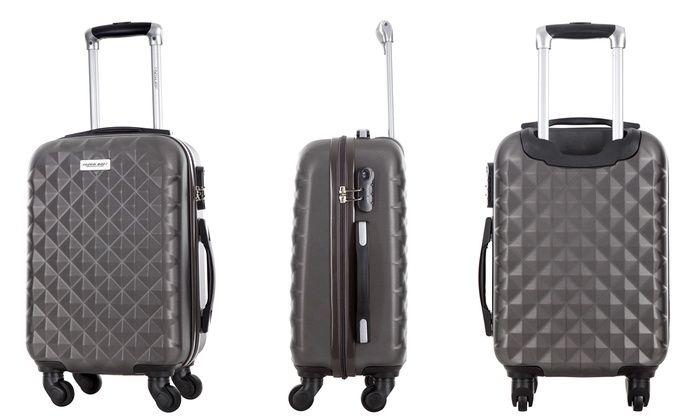 Groupon Goods Global GmbH: Set de 3 valises en ABS ultra résistantEdison