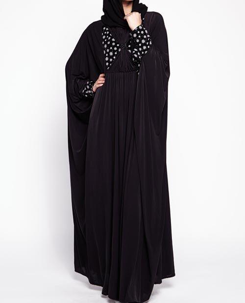 ff5137349 New-Saudi-Abaya-Designs-Fashion-2017-2018--Simple-Black-Burqa-4 ...
