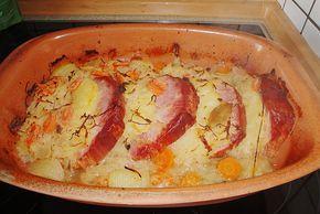 Kasseler mit Sauerkraut aus dem Römertopf (Rezept mit Bild)   Chefkoch.de