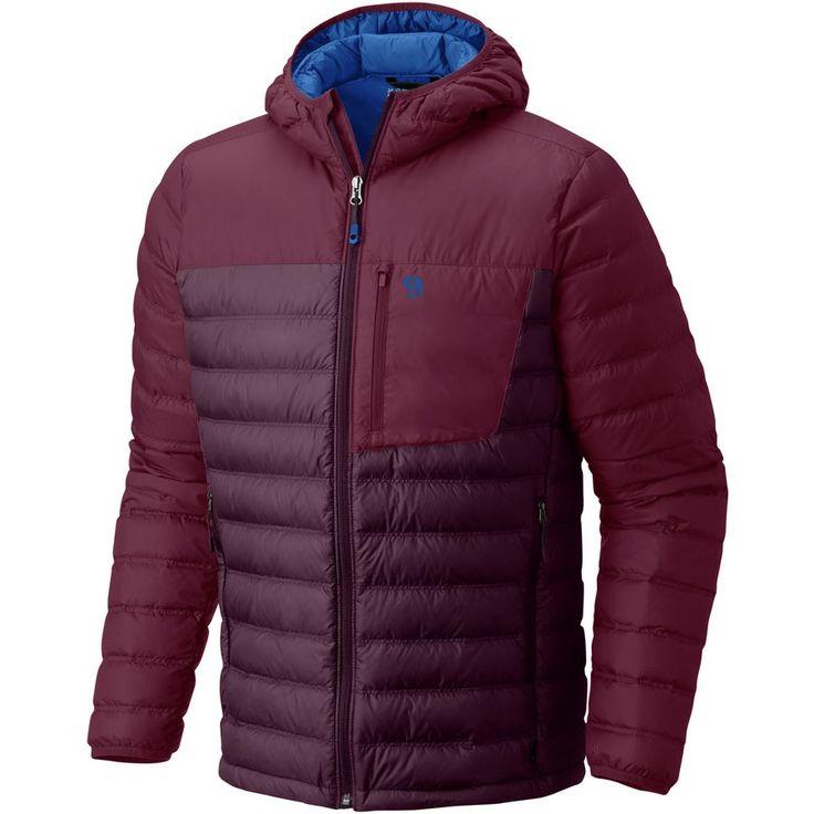 Mountain Hardwear - Dynotherm Hooded Down Jacket - Men's - Dark Tannin