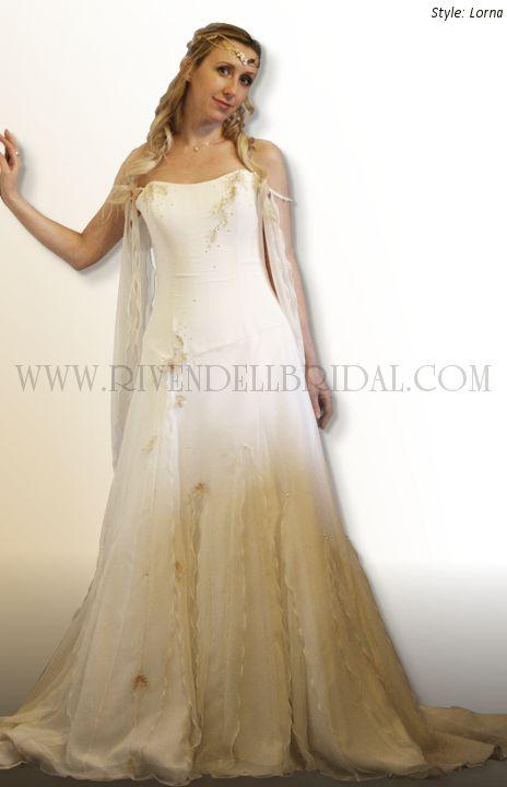 Medieval Wedding Dresses Fairy Celtic By Rivendell Bridal