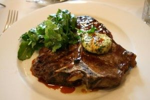 Twenty Dollar T-Bone - June lunch special at Wellington's favourite bistro