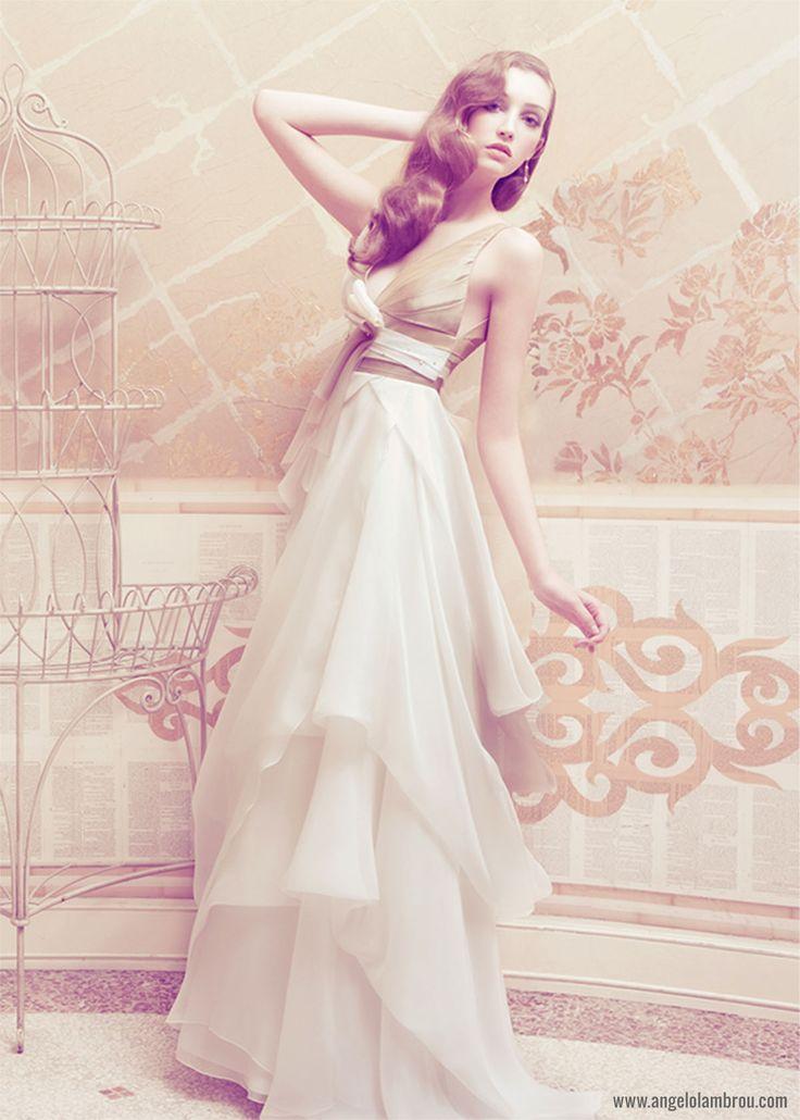 Amaya ‹ New York, NY Couture Wedding Dresses & Gowns – Angelo Lambrou - Amaya Wedding Gown by Angelo Lambrou