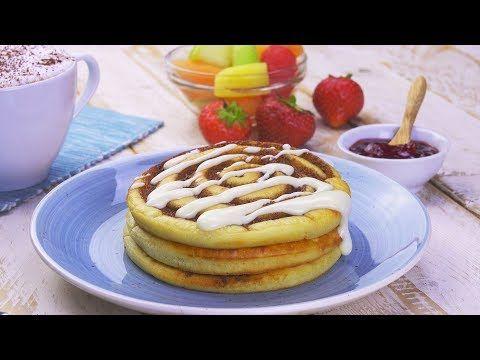Witziger Trick: Beim Pfannkuchenbacken einen Wirbel in den Teig malen.