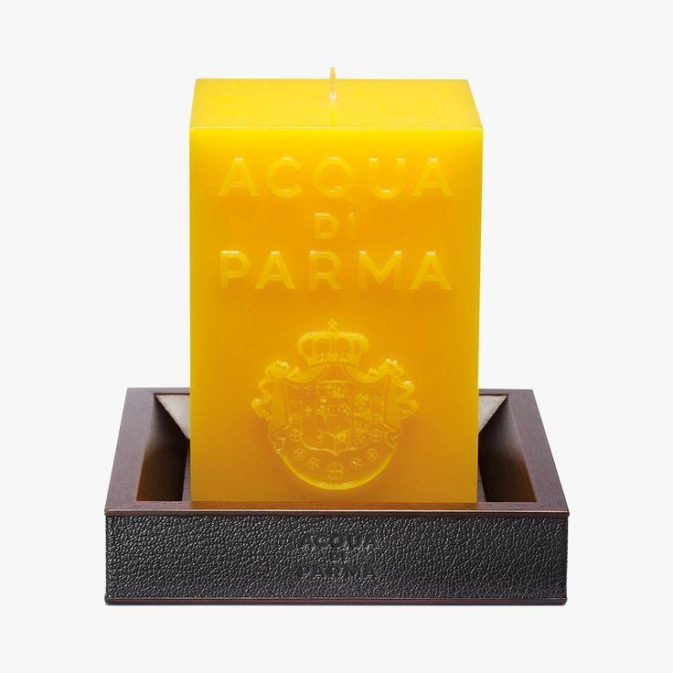Base pour bougie en Wengé - Acqua Di Parma - Find this product on Bon Marché website - Le Bon Marché Rive Gauche