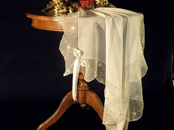 Need a Chuppah? Consider using a vintage table cloth, just make sure that it is big enough. $80