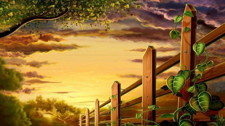 Beautiful Nature 3d Garden Wallpaper | HD Wallpaper World