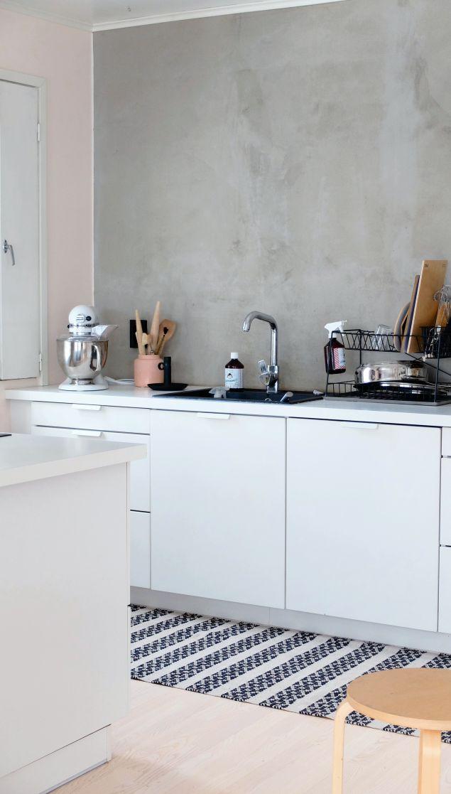 Concrete kitchen by KOTIPALAPELI