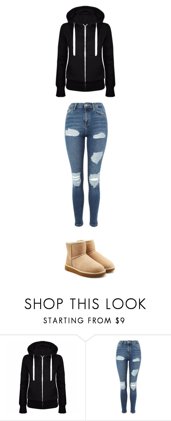 """""""October 29"""" by ottoca on Polyvore featuring Topshop and UGG"""
