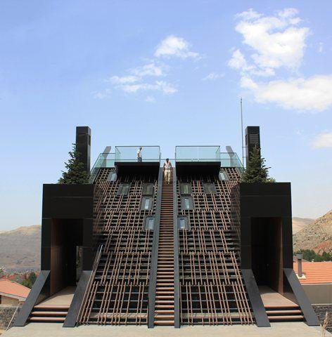 Plot # 4328, Mount Lebanon Governorate, 2010 - Bernard Khoury | DW5