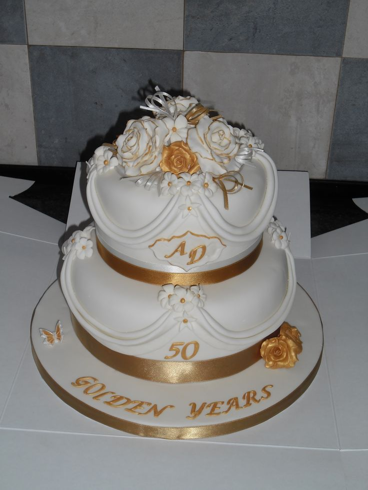 1000 images about 50th wedding anniversary cake ideas on for 50th wedding anniversary cake decoration ideas
