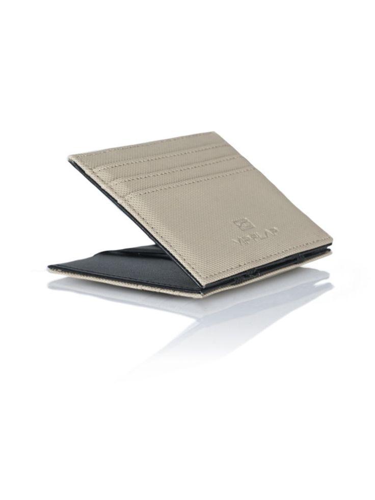 Vip Flap Portafoglio Wallet credit card Porta Carte Linea Gum Edition KAKI