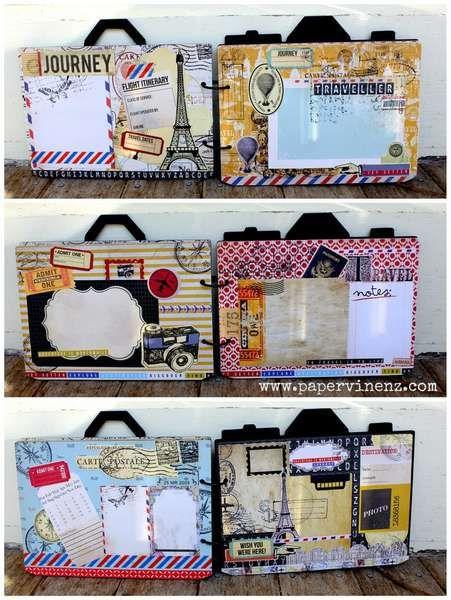 cute suitcase/travel bag book