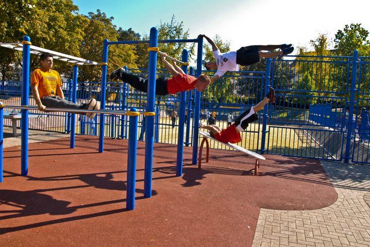 Street Workout , czyli siłownia na świeżym powietrzu - Ćwiczenia fitness
