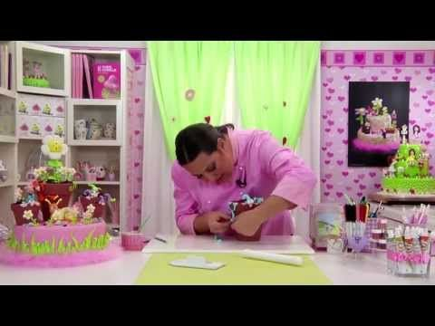I Love Cake Design Puntate : 16 best fiorella video images on Pinterest Modeling ...