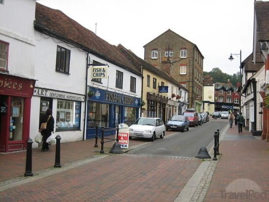 Godalming - a town where I spent a lot of time while doing live-in care work for an elderly lady who lived there. This was almost 20 years ago now....wow, time flies!