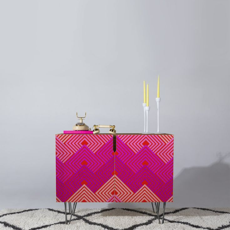 Holli Zollinger Techno Circuit Credenza | DENY Designs Home Accessories