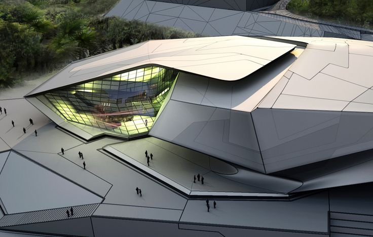 Chinese University of Hong Kong Sports Complex | Tom Wiscombe Design, LLC | Archinect
