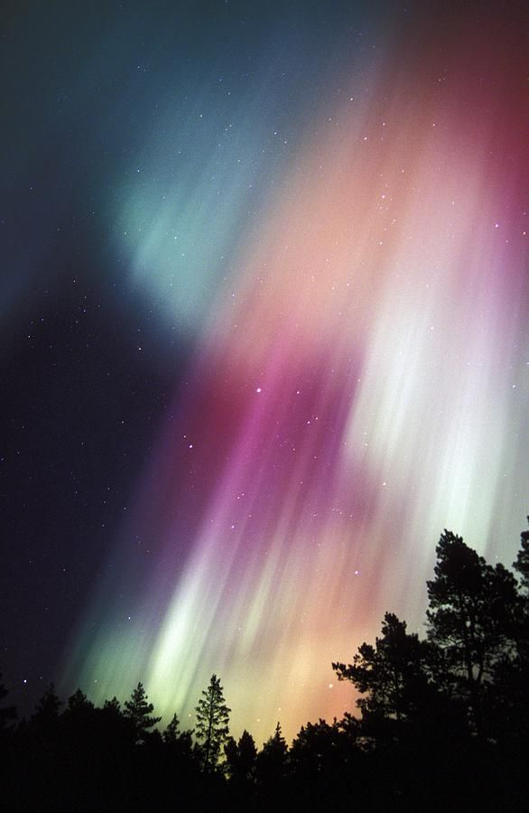 Aurora Borealis, Finland I have an obsession with this because of the song Above the Northern Lights by Manheim Steamroller which is basically the prettiest song ever FYI