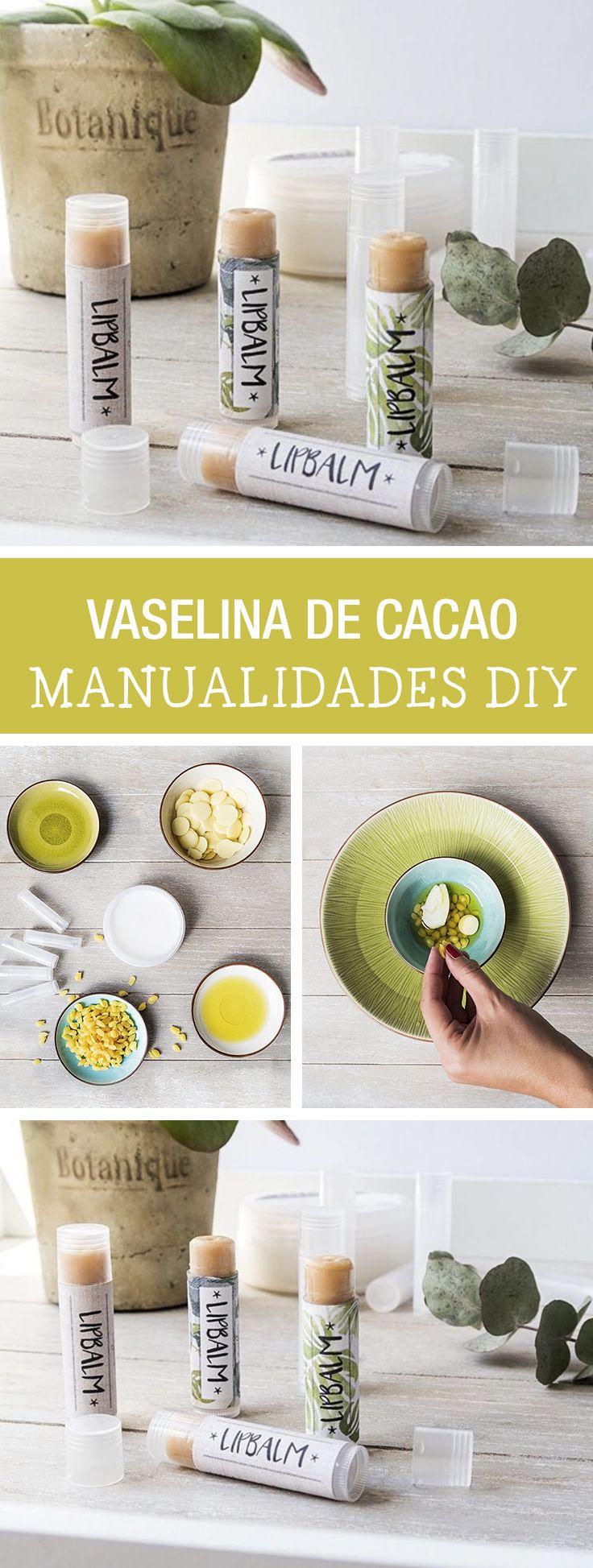 Tutorial DIY - CÓMO HACER VASELINA CON MANTECA DE CACAO - Manualidades en DaWanda.es