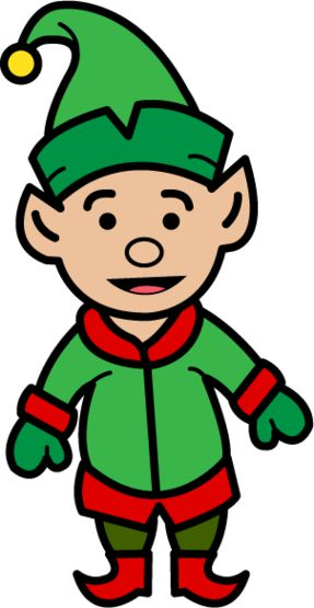 Elf Clipart - Free to use Clip Art Resource