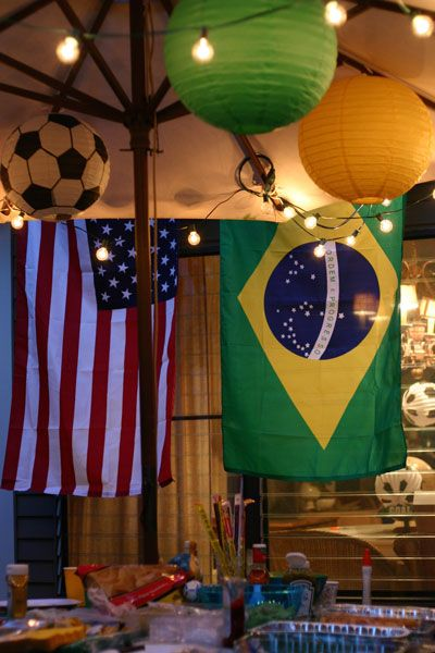 World Cup Party Decorations! Nesting With Style | Adding Joie de vivre to every day