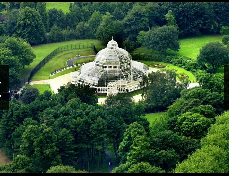 The Palm House, Sefton Park, Liverpool, England