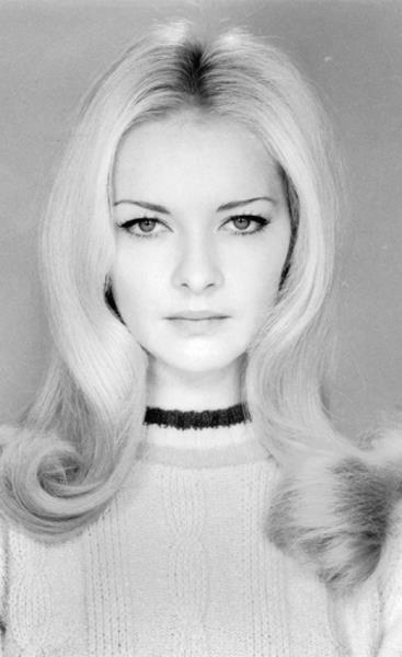 Thursday is the day of Polish beauties from the past.  Barbara Brylska, Polish film star of the late 60's -70's.
